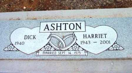 ASHTON, HARRIET G. - Yavapai County, Arizona | HARRIET G. ASHTON - Arizona Gravestone Photos
