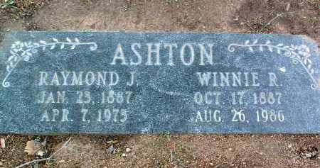 ASHTON, WINNIE GRACE - Yavapai County, Arizona | WINNIE GRACE ASHTON - Arizona Gravestone Photos