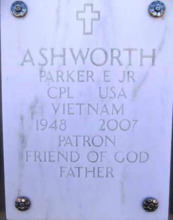 ASHWORTH, PARKER ERNEST, JR. - Yavapai County, Arizona   PARKER ERNEST, JR. ASHWORTH - Arizona Gravestone Photos