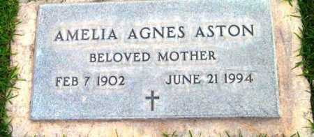 ASTON, AMELIA AGNES - Yavapai County, Arizona | AMELIA AGNES ASTON - Arizona Gravestone Photos