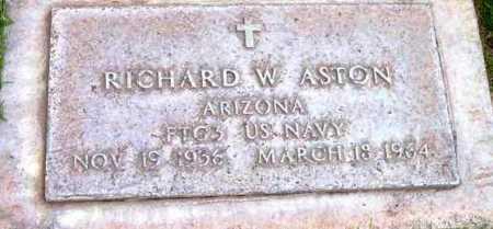 ASTON, RICHARD WILLARD - Yavapai County, Arizona | RICHARD WILLARD ASTON - Arizona Gravestone Photos