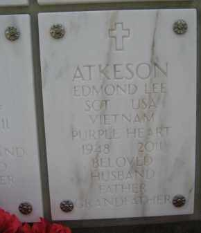 ATKESON, EDMOND LEE - Yavapai County, Arizona | EDMOND LEE ATKESON - Arizona Gravestone Photos