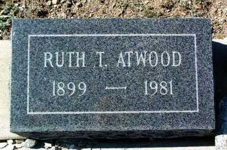 ATWOOD, RUTH MATTIE - Yavapai County, Arizona | RUTH MATTIE ATWOOD - Arizona Gravestone Photos