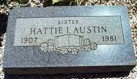 AUSTIN, HATTIE ISABELLE - Yavapai County, Arizona   HATTIE ISABELLE AUSTIN - Arizona Gravestone Photos