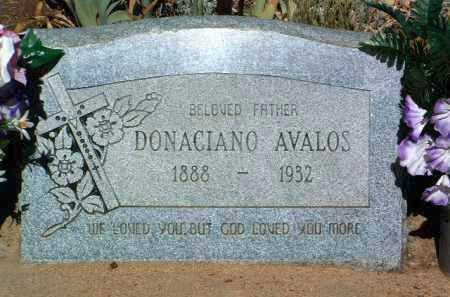 AVALOS, DONACIANO - Yavapai County, Arizona   DONACIANO AVALOS - Arizona Gravestone Photos