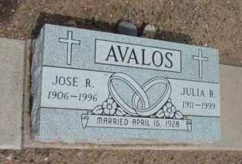 AVALOS, JOSE ROCA - Yavapai County, Arizona | JOSE ROCA AVALOS - Arizona Gravestone Photos