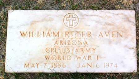 AVEN, WILLIAM PETER - Yavapai County, Arizona | WILLIAM PETER AVEN - Arizona Gravestone Photos