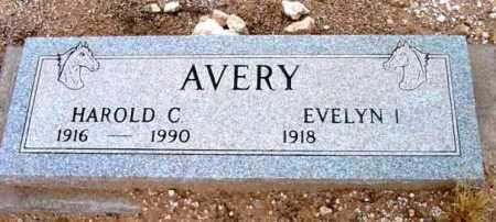 AVERY, HAROLD C. - Yavapai County, Arizona   HAROLD C. AVERY - Arizona Gravestone Photos