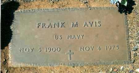 AVIS, FRANK MARION - Yavapai County, Arizona | FRANK MARION AVIS - Arizona Gravestone Photos