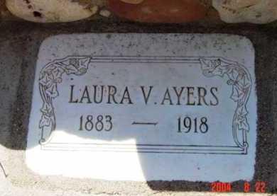 AYERS, LAURA V. - Yavapai County, Arizona   LAURA V. AYERS - Arizona Gravestone Photos