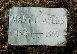 BAKER AYERS, MARY EMMA - Yavapai County, Arizona | MARY EMMA BAKER AYERS - Arizona Gravestone Photos