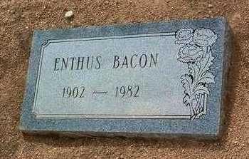 BACON, ENTHUS - Yavapai County, Arizona | ENTHUS BACON - Arizona Gravestone Photos