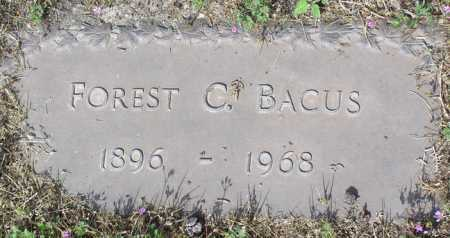 BACUS, FOREST CLINTON - Yavapai County, Arizona | FOREST CLINTON BACUS - Arizona Gravestone Photos