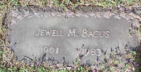 BACUS, MARY JEWELL - Yavapai County, Arizona   MARY JEWELL BACUS - Arizona Gravestone Photos