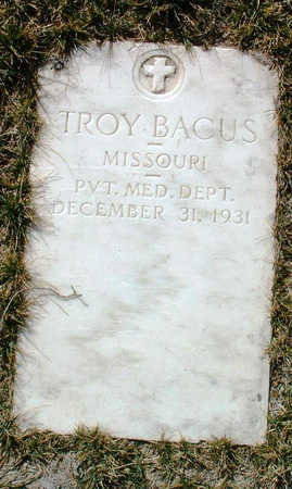 BACUS, TROY - Yavapai County, Arizona | TROY BACUS - Arizona Gravestone Photos