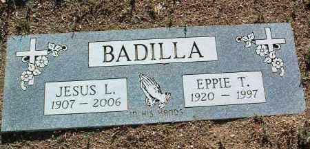 BADILLA, EPPIE T. - Yavapai County, Arizona   EPPIE T. BADILLA - Arizona Gravestone Photos