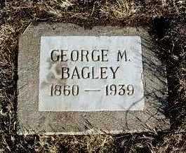BAGLEY, GEORGE M. - Yavapai County, Arizona | GEORGE M. BAGLEY - Arizona Gravestone Photos
