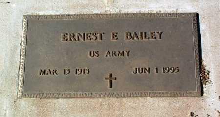 BAILEY, ERNEST E. - Yavapai County, Arizona | ERNEST E. BAILEY - Arizona Gravestone Photos