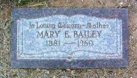HELTON BAILEY, MARY ELIZABETH - Yavapai County, Arizona | MARY ELIZABETH HELTON BAILEY - Arizona Gravestone Photos