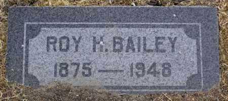 BAILEY, ROY H. - Yavapai County, Arizona | ROY H. BAILEY - Arizona Gravestone Photos