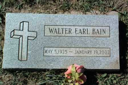 BAIN, WALTER EARL - Yavapai County, Arizona | WALTER EARL BAIN - Arizona Gravestone Photos