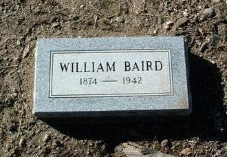 BAIRD, WILLIAM - Yavapai County, Arizona | WILLIAM BAIRD - Arizona Gravestone Photos