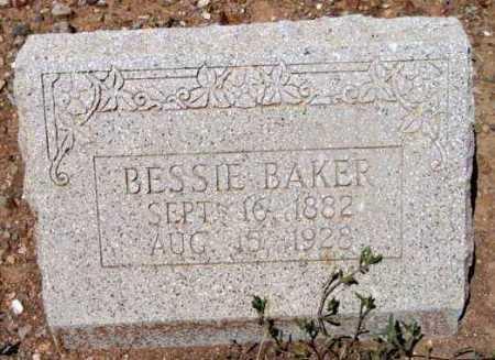 BAKER, BESSIE - Yavapai County, Arizona | BESSIE BAKER - Arizona Gravestone Photos