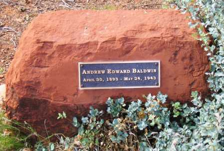 BALDWIN, ANDREW EDWARD - Yavapai County, Arizona | ANDREW EDWARD BALDWIN - Arizona Gravestone Photos