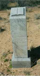 BALDWIN, TROUMAN - Yavapai County, Arizona | TROUMAN BALDWIN - Arizona Gravestone Photos