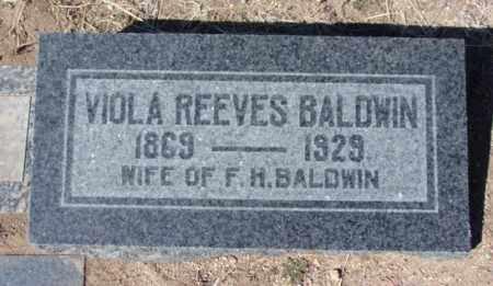 BALDWIN, VIOLA BETHIA - Yavapai County, Arizona | VIOLA BETHIA BALDWIN - Arizona Gravestone Photos