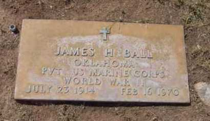 BALL, JAMES H. - Yavapai County, Arizona | JAMES H. BALL - Arizona Gravestone Photos