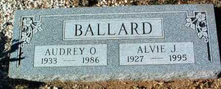 BALLARD, AUDREY O. - Yavapai County, Arizona | AUDREY O. BALLARD - Arizona Gravestone Photos