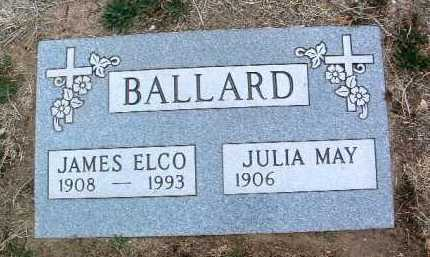 BALLARD, JULIA MAY - Yavapai County, Arizona | JULIA MAY BALLARD - Arizona Gravestone Photos