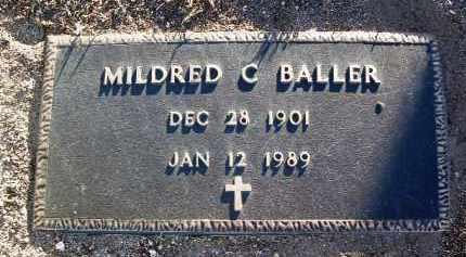 BALLER, MILDRED C. - Yavapai County, Arizona | MILDRED C. BALLER - Arizona Gravestone Photos