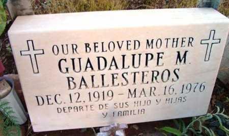 BALLESTEROS, GUADELUPE - Yavapai County, Arizona   GUADELUPE BALLESTEROS - Arizona Gravestone Photos
