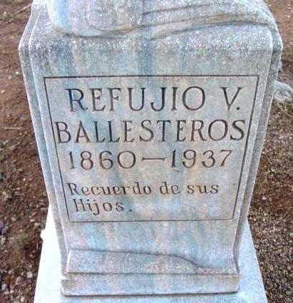 BALLESTEROS, REFUJIO V. - Yavapai County, Arizona | REFUJIO V. BALLESTEROS - Arizona Gravestone Photos