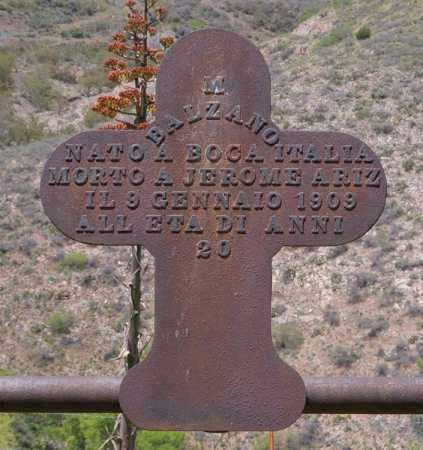 BALZANO, MAURICE - Yavapai County, Arizona | MAURICE BALZANO - Arizona Gravestone Photos