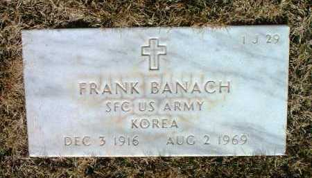 BANACH, FRANK - Yavapai County, Arizona | FRANK BANACH - Arizona Gravestone Photos