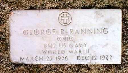 BANNING, GEORGE R. - Yavapai County, Arizona | GEORGE R. BANNING - Arizona Gravestone Photos
