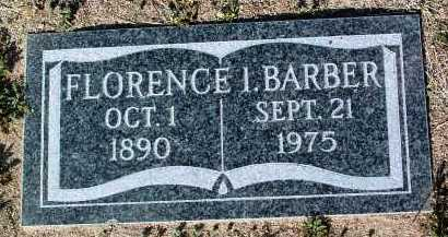BARBER, FLORENCE I. - Yavapai County, Arizona | FLORENCE I. BARBER - Arizona Gravestone Photos