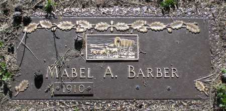 BARBER, MABEL ANNETTE - Yavapai County, Arizona | MABEL ANNETTE BARBER - Arizona Gravestone Photos