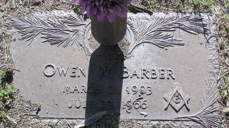 BARBER, OWEN WALTER - Yavapai County, Arizona | OWEN WALTER BARBER - Arizona Gravestone Photos