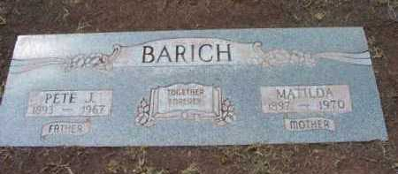 BARICH, PETER JOHN - Yavapai County, Arizona | PETER JOHN BARICH - Arizona Gravestone Photos