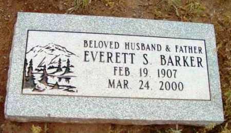 BARKER, EVERETT S. - Yavapai County, Arizona | EVERETT S. BARKER - Arizona Gravestone Photos