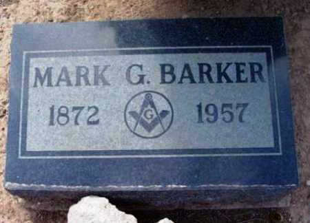 BARKER, MARK GEORGE - Yavapai County, Arizona   MARK GEORGE BARKER - Arizona Gravestone Photos