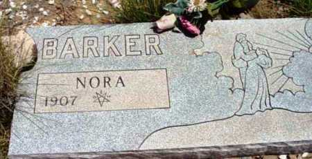 BARKER, NORA - Yavapai County, Arizona   NORA BARKER - Arizona Gravestone Photos