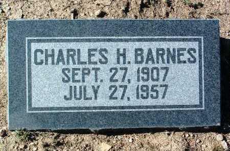 BARNES, CHARLES HASKELL - Yavapai County, Arizona   CHARLES HASKELL BARNES - Arizona Gravestone Photos