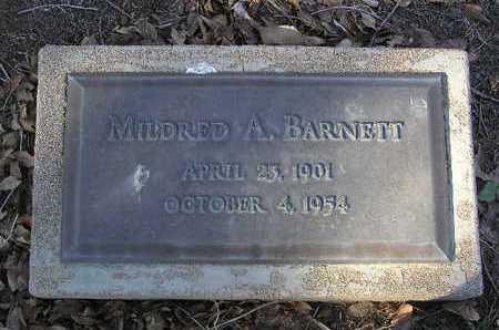 BARNETT, MILDRED A. - Yavapai County, Arizona | MILDRED A. BARNETT - Arizona Gravestone Photos