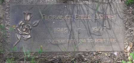 BARNEY, FLORANCE BELLE - Yavapai County, Arizona   FLORANCE BELLE BARNEY - Arizona Gravestone Photos