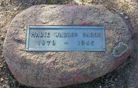 BARON, MARIE - Yavapai County, Arizona   MARIE BARON - Arizona Gravestone Photos